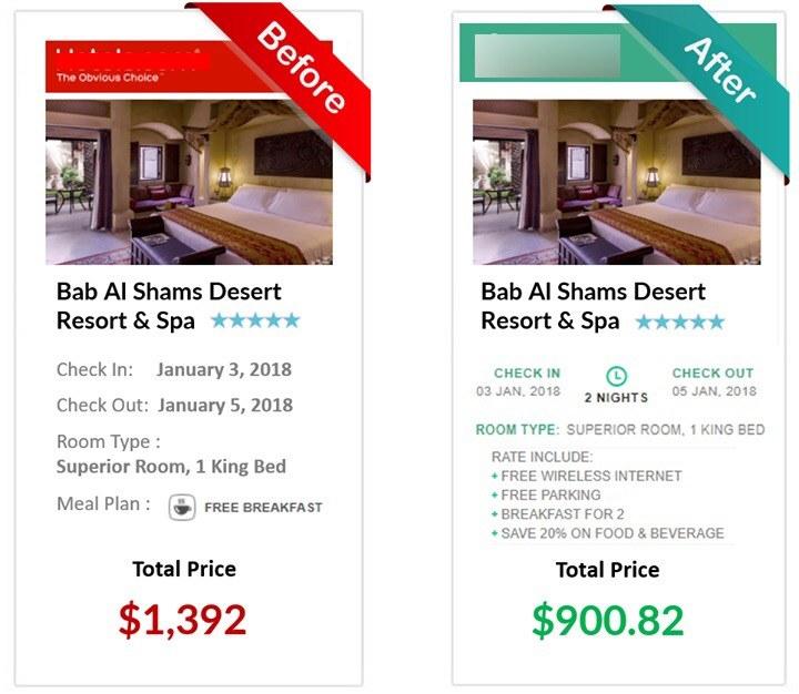 Cheapest hotel rates online - Bab Al Shams resort