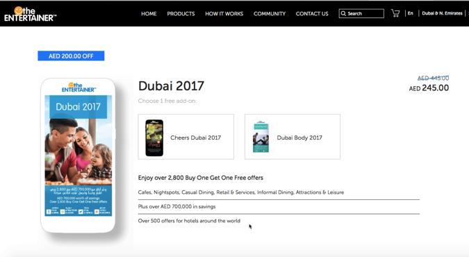 The Entertainer Dubai 2017