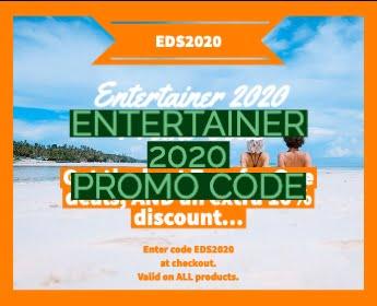 Entertainer Promo Code 2020 Grid Image
